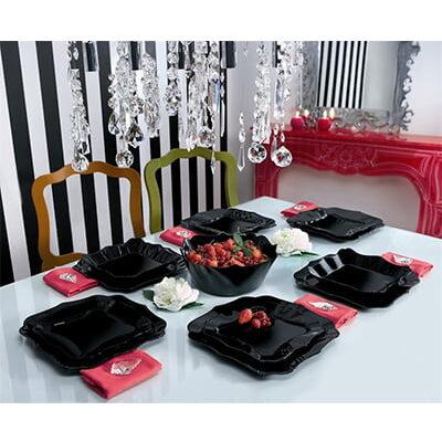 Set Pjatash Luminarc Authentic Black 19 cope Blerje Online
