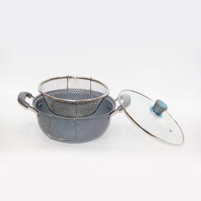 Tenxhere / Friteze me veshje guri 28 cm Blerje Online