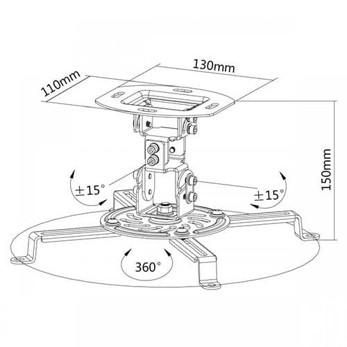 Mbajtese Projektori SBOX PM-18 Blerje Online