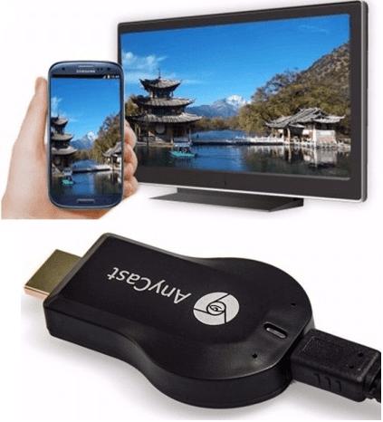 Nderlidhes Smartphone me TV AnyCast M2 Plus