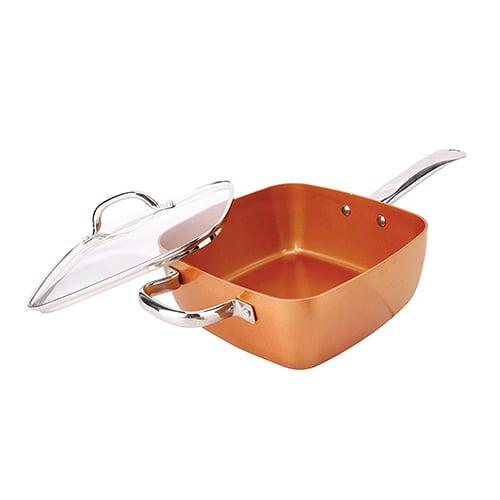 Tigan i thelle Copper pan 3ne1 Blerje Online