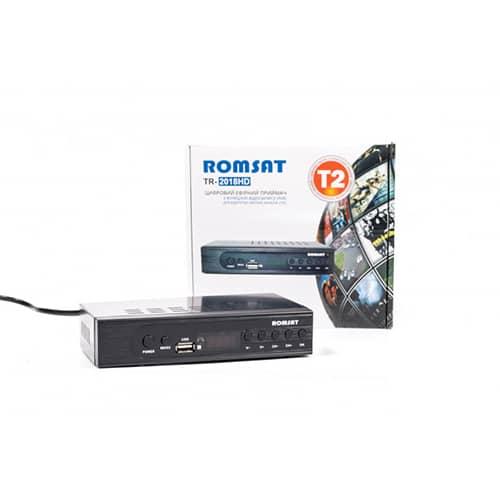 Dekoder DVB-T2 ROMSAT TR-2018HD