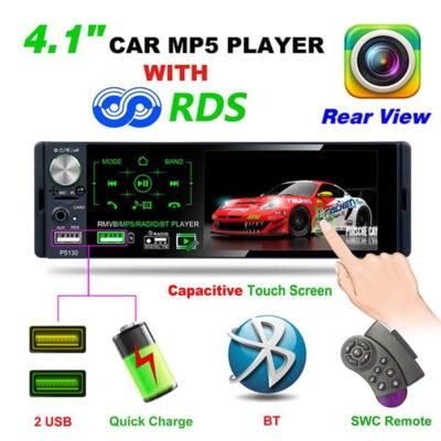 Kasetofon per makine me Ekran 4″ Touch Screen [tag]