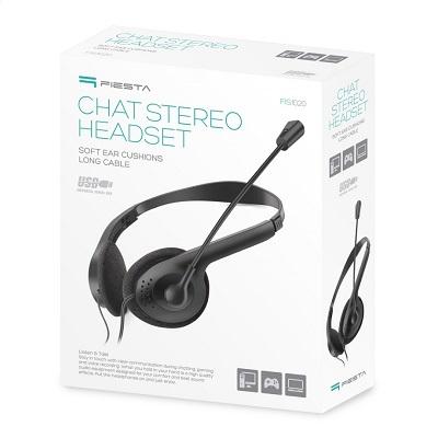 Kufje Chat Stereo Headset Platineti